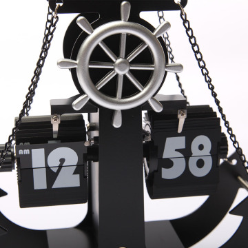 Fascinating Anchor-shape Flip Clock