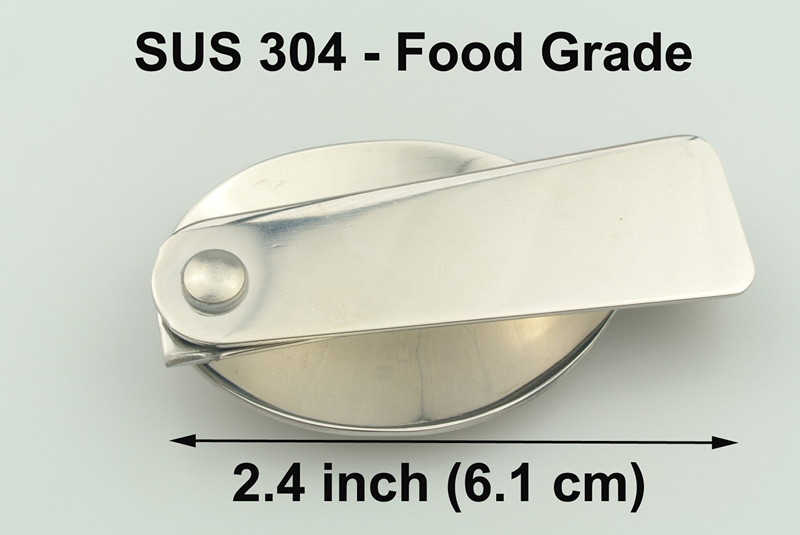18/8 Gorgeous Stainless Steel Folding Spoon