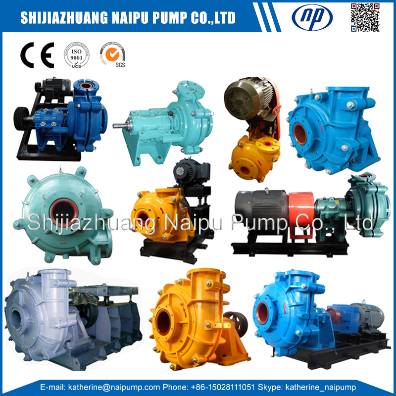 18 Slurry pumps