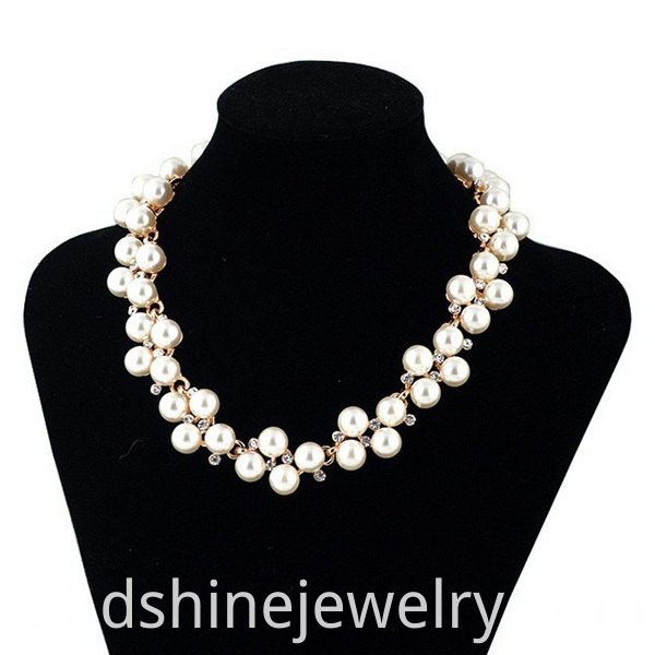 Bride Pearl Necklace Jewelry