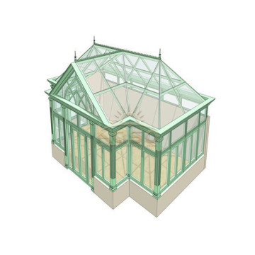 ODM for Glass Sunroom,Glass House,Glass Room Manufacturer in China Sunroom 8X8 Four Season Room export to Russian Federation Manufacturers