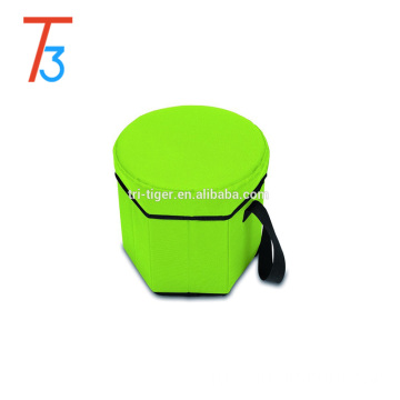 Collapsible picnic time sports seat foldable insulated cooler sport bag