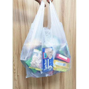 Custom Printed 100% Biodegradable Carry plastic Bags