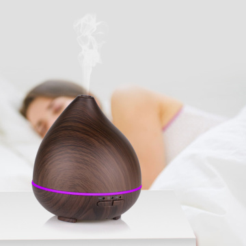 High Quality Wood Grain Aroma Oil Diffuser Usb
