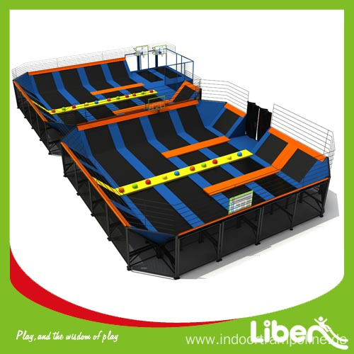 Large Shopping Mall Cheap Children Indoor Trampoline Arena Centre