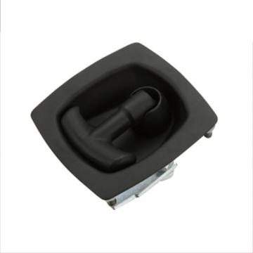 Good Quality for Panel Door Locks Black Powder Coated Iron Industrial Flush Pull Latches export to Colombia Wholesale