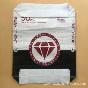 PP valve bag for sand and cement