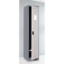 Hanging clothes personal single metal locker