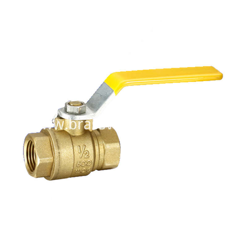 Lead Free Brass Npt Ball Valve