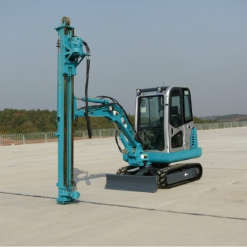 High Efficiency Screw Pile Driver machines