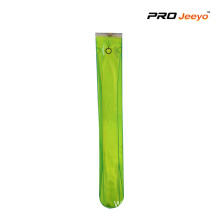 Reflective PVC Green Safety LED Slap Band