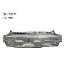 New Arrival China for Other Auto Parts For HYUNDAI,HYUNDAI Radiator,HYUNDAI Tail Panel Manufacturers and Suppliers in China Steel Body Autoparts HYUNDAI 2006 ACCENT TAIL PANEL supply to Equatorial Guinea Manufacturer