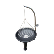 Good Quality for Outside Fire Pit Korean Style BBQ Grill Tripod Charcoal Barbecue supply to Russian Federation Importers