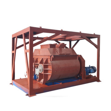 forced JS concrete mixer for batching plant