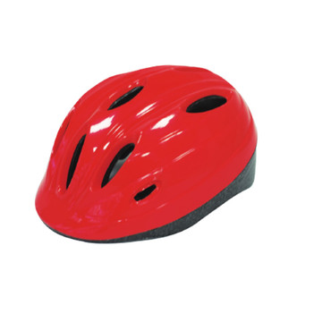 Bright Solid color Bicycle Helmets