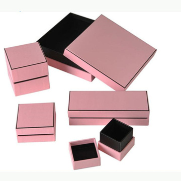Earrings Pearl Packaging Gift Paper Jewelry Box