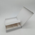 White Book Shaped Mobile Phone Paper Box