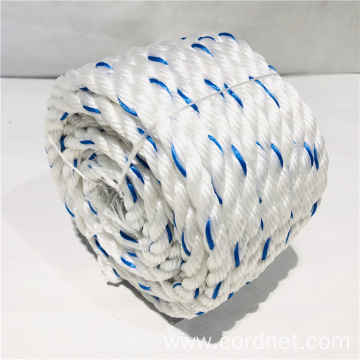 White String Blue PP Rope with Lowest Price