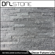 Top for Decoration Stone Panels cheap natural black stacked stone cladding export to Netherlands Manufacturers