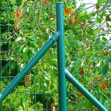 Euro Green PVC Coated Welded Mesh Fence