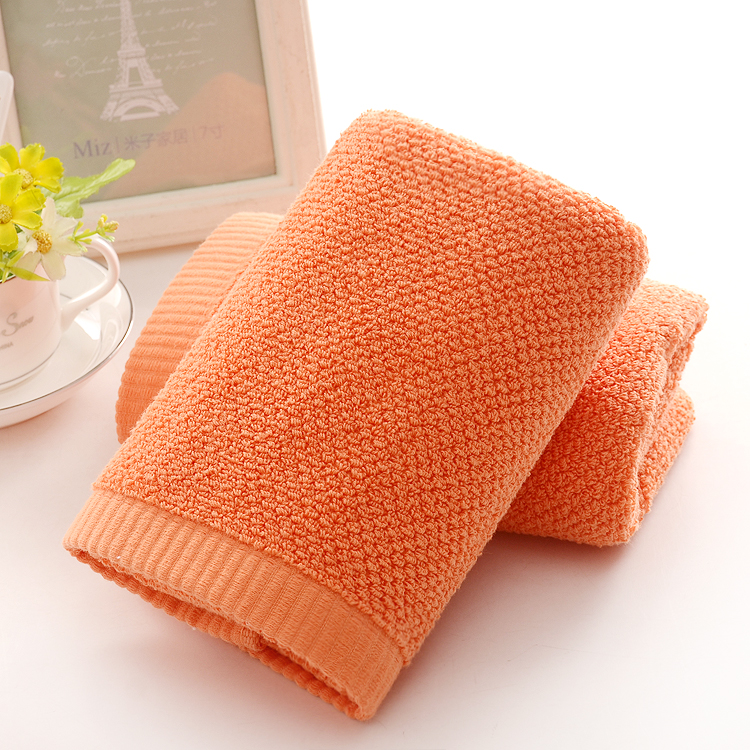 Orange Face Towels