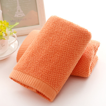 Luxury Orange Oversized Shower Towels