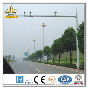 Bottom price for China Traffic Signal Mast,Traffic Signal Light,Camera Pole supplier Polygonal Treated CCTV Steel Pole supply to Cocos (Keeling) Islands Supplier