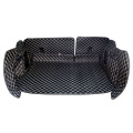 Luxury Leather 5D Cargo Liners Trunk Mats for SUV Models