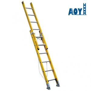 3 section fiberglass ladder