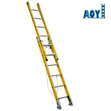 2 section fiberglass ladder