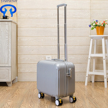 Travel boarding box PCsuitcase pull bar box