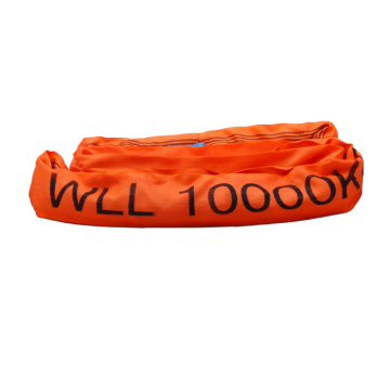 10T Load Capacity Polyester Endless Round Sling