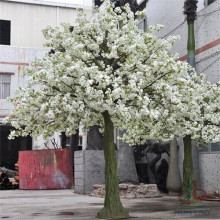 Plastic Artificial Cherry Blossom Tree