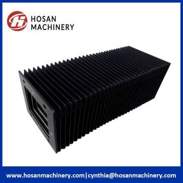 Heat resistance fabric flexible accordion bellows
