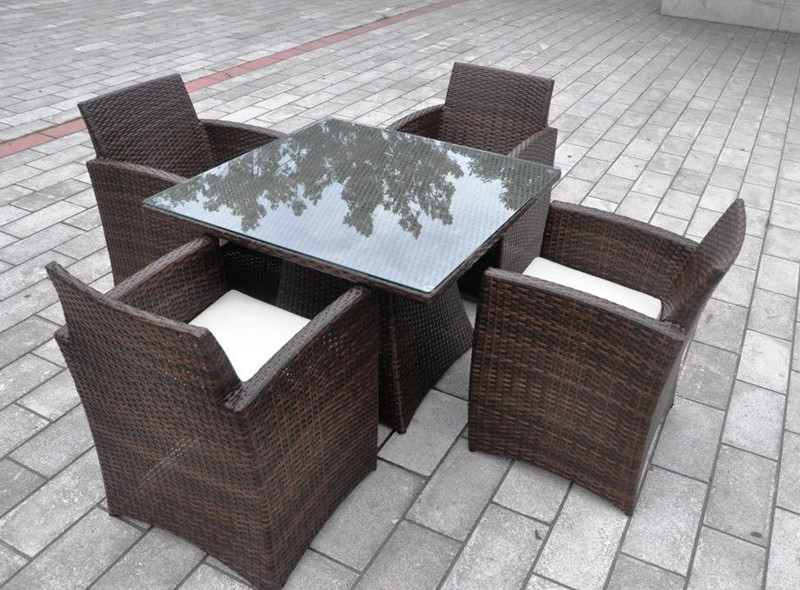 wholesale rattan wicker dining set3