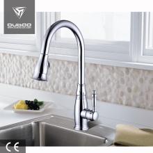 Polished Chrome Single Hole One Lever Kitchen Faucets