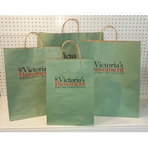 promotional kraft paper bag with logo