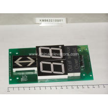 KONE Lift Seven Segment Code Display Board KM863210G01