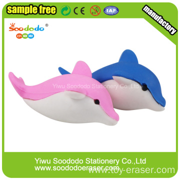 Puzzle Dolphin Erasers Animal Rubber Set Eraser