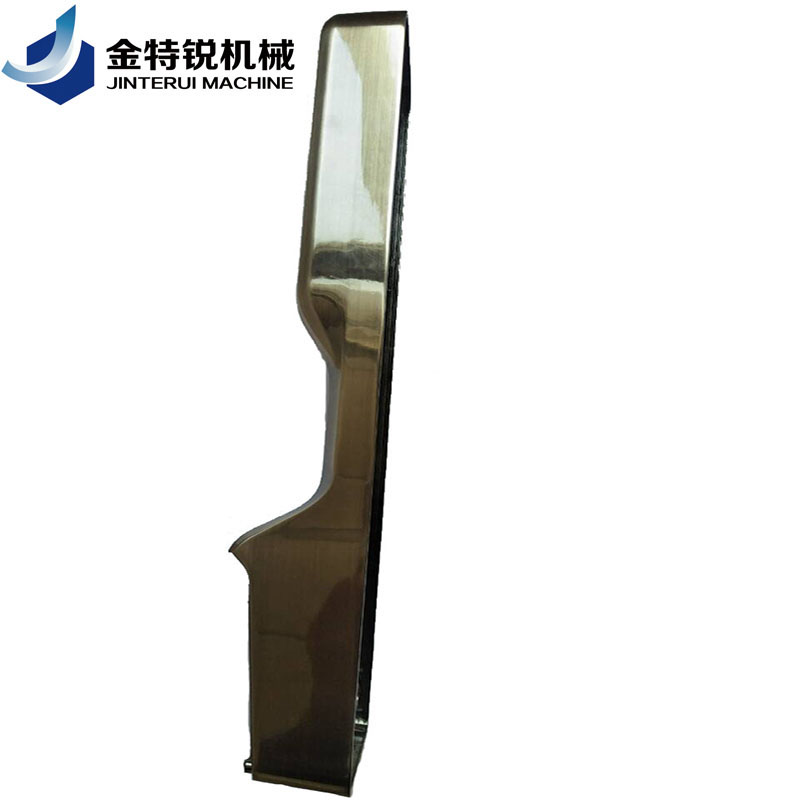Galvanized zamak door handle die-cast