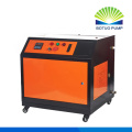 Plunger pump fog machine for dust control