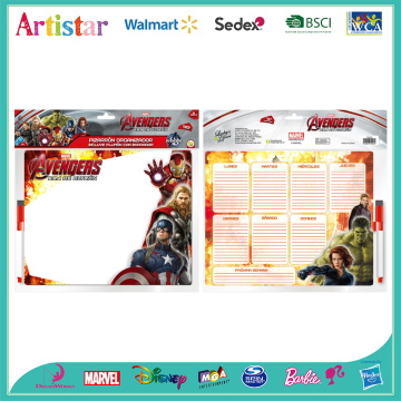 Marvel Avengers white board