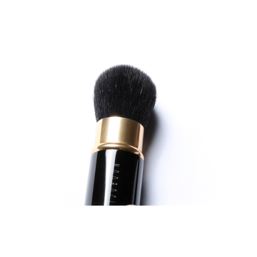 Goat hair retractable Face Powder makeup brush