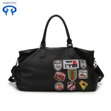 Cotton and nylon travel bag for sport