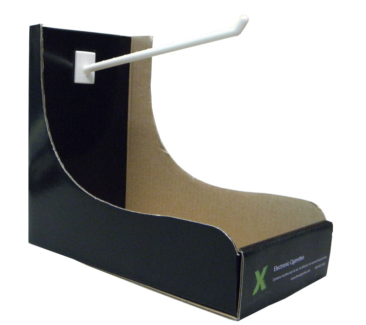 B flute carton cardboard display box