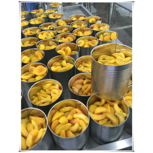 In Syrup Spiced Canned Yellow Peaches
