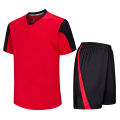 100 polyester uniforme de football scolaire adulte