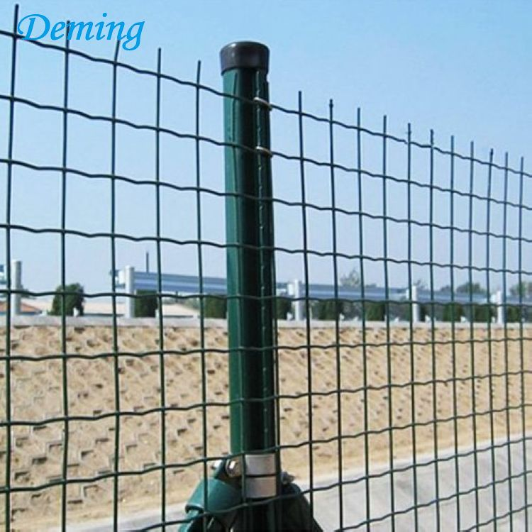 PVC Coated Welded Wire Mesh Euro Fence