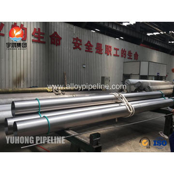 Monel 400 ASTM B165 N04400 Seamless Pipe