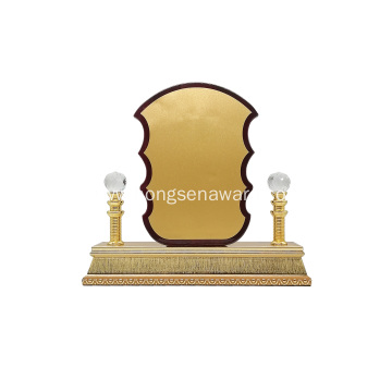 stock High quality wooden medal